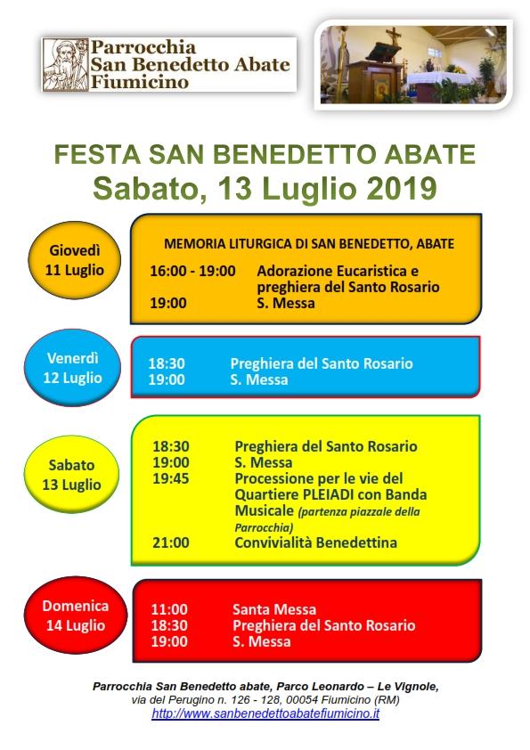 2019, Programma religioso ml sba_001