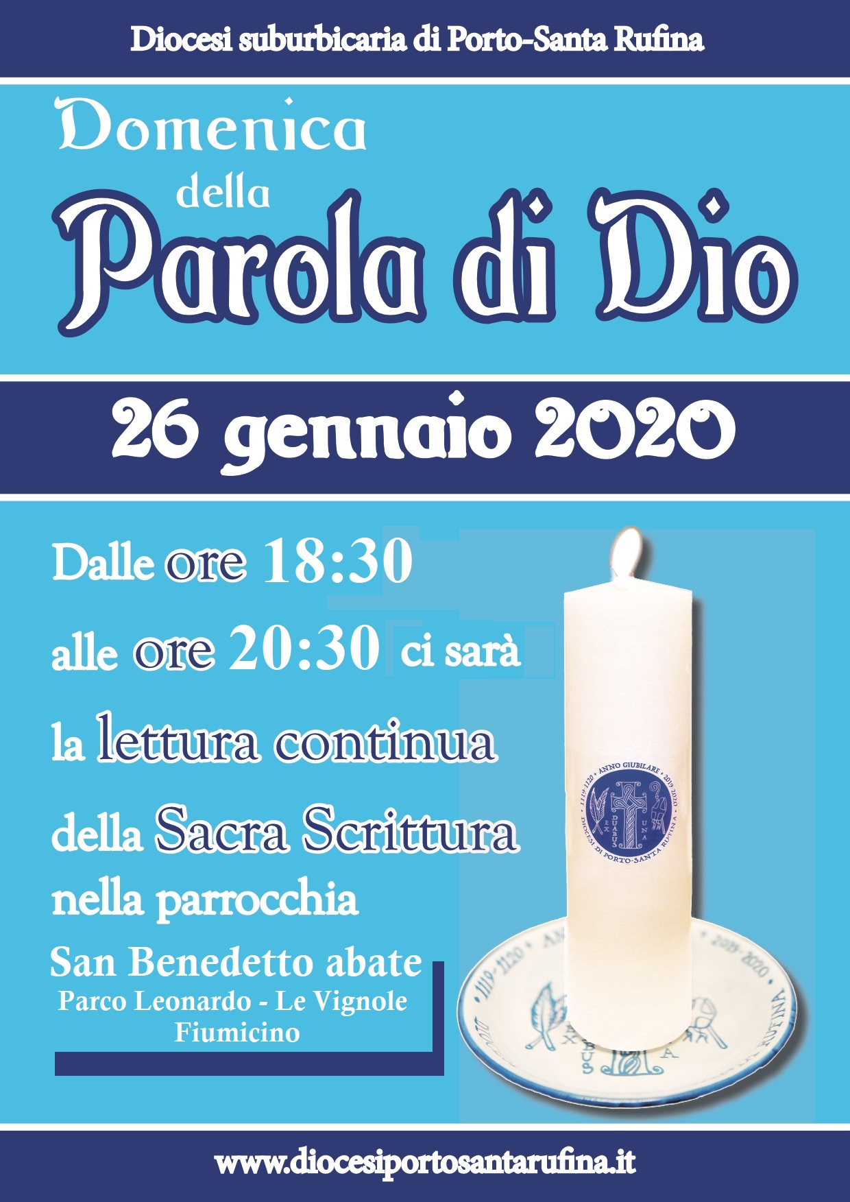 Domenica-parola-2020, Parrocchia SBA